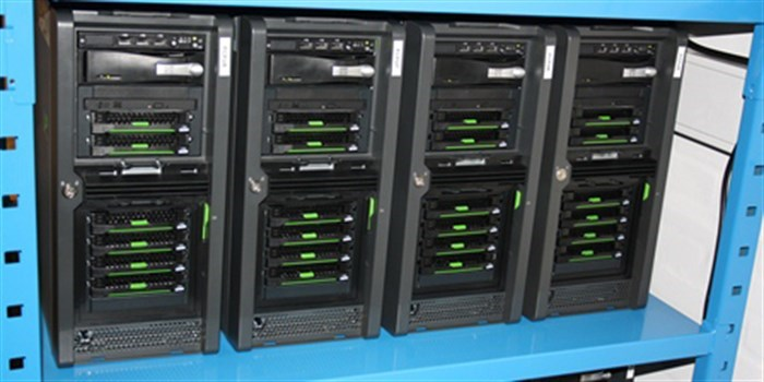 The CFU storage cluster (Photo: DTU Elektro)